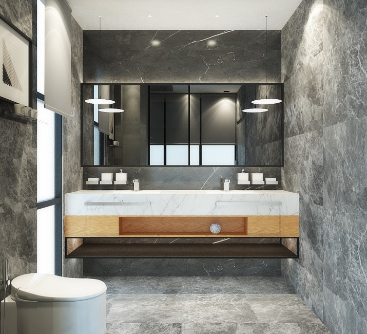 Pasir Ris Master Bedroom Bathroom View 2 12182017